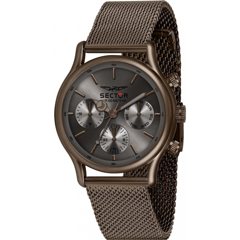 SECTOR MULT GRAY DIAL MESH BR CHOCOLAT 43MM - SECTOR