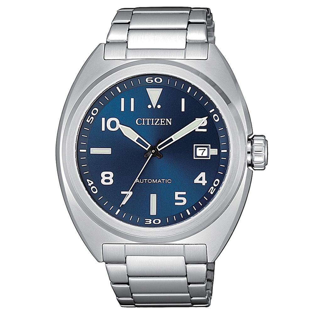 CITIZEN URBAN AUTOMATIC QUADRANTE BLU - CITIZEN