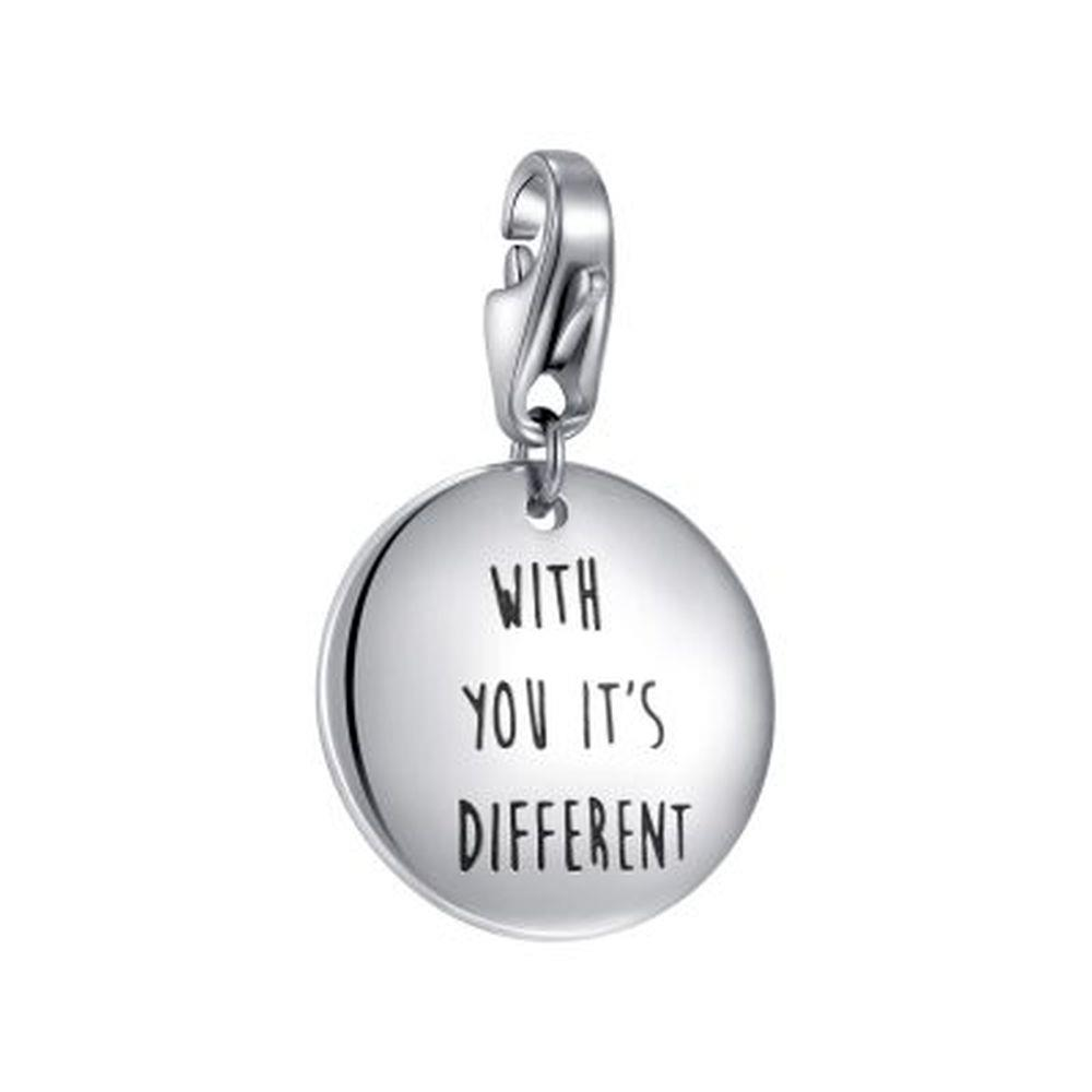 """CHARM TARGHETTA """"WITH YOU IT'S DIFFERENT"""" - S"""