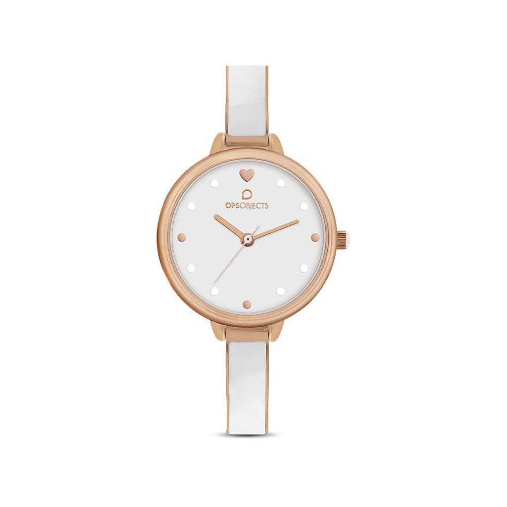 OROLOGIO DONNA SEMIRIGIDO OPS OBJECTS IN ACCIAIO - OPS OBJECTS