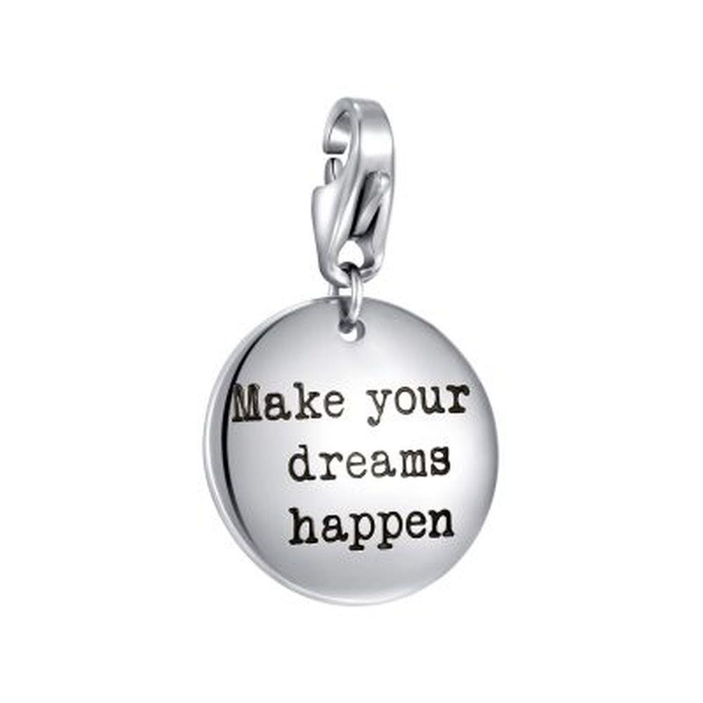 "CHARM TARGHETTA ""MAKE YOUR DREAMS HAPPEN"" - S"