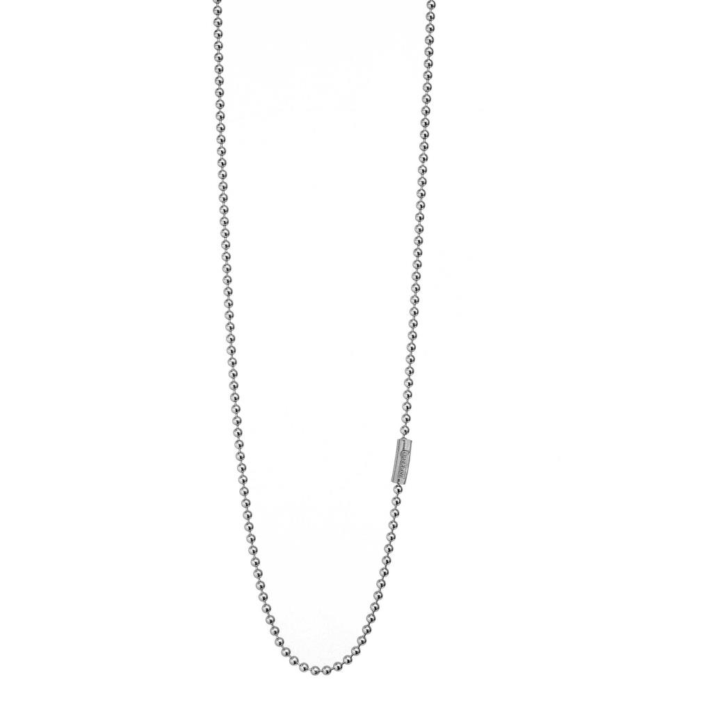 COLLANA BOULE DA 2,5 MM CON TUBO TONDO - JACK & CO