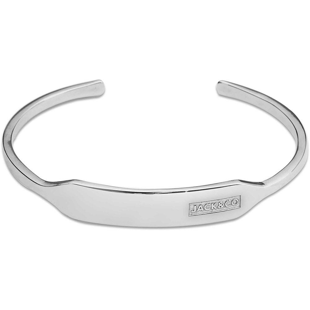BRACCIALE BANGLE CON PIASTRINA - JACK & CO