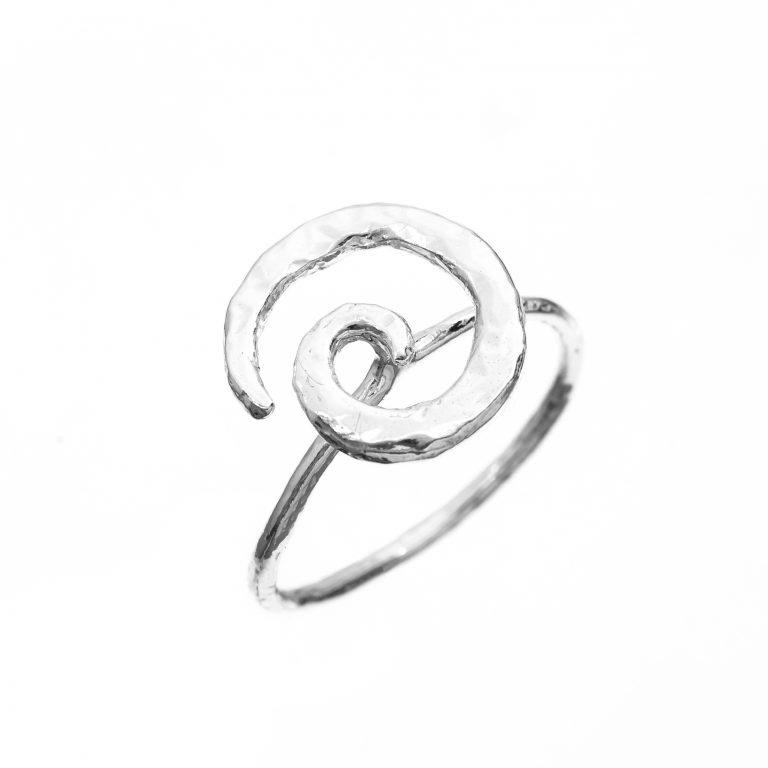 TWIST – ANELLO IN ARGENTO NATURALE - ATHENA