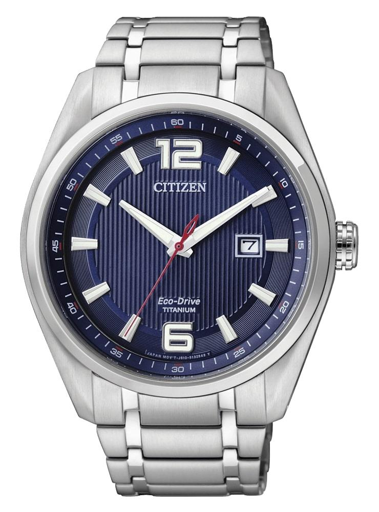 CITIZEN SUPER TITANIUM QUADRANTE BLU - CITIZEN