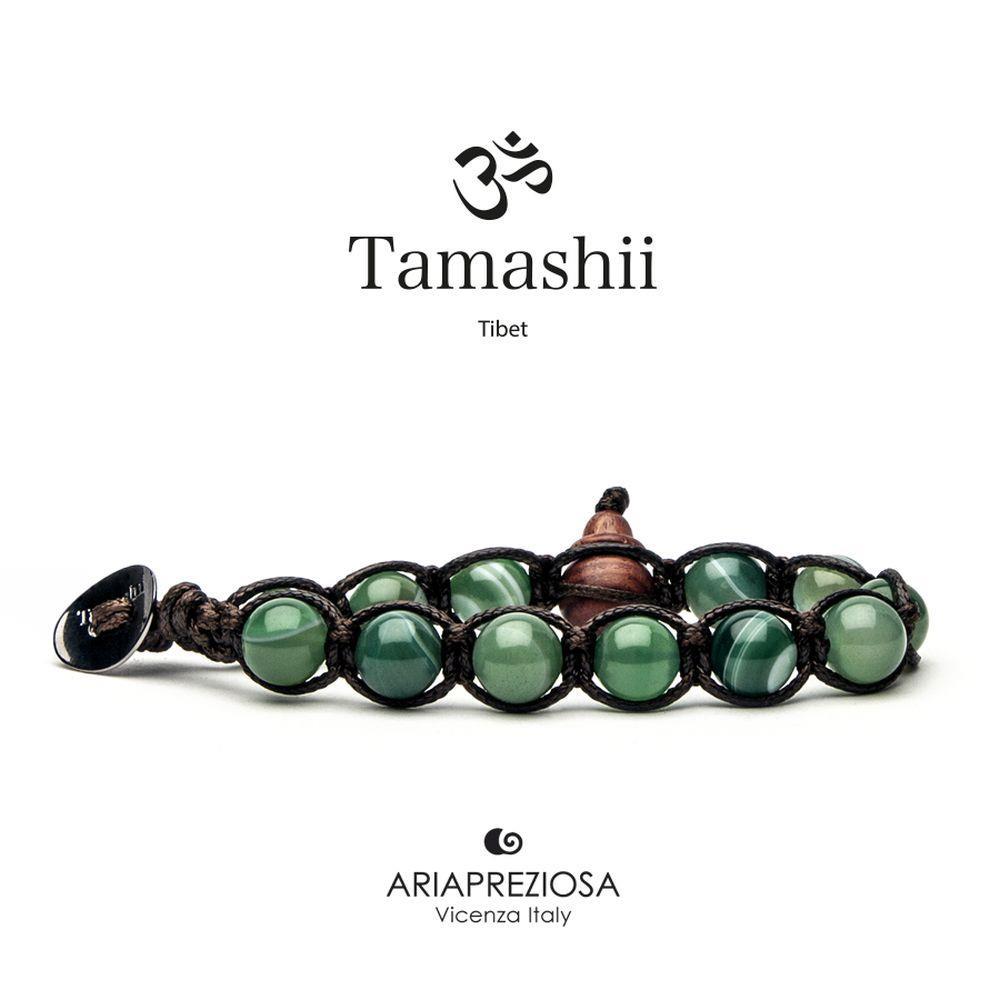 TAMASHII AGATA VERDE CHIARO STRIATA - TAMASHII