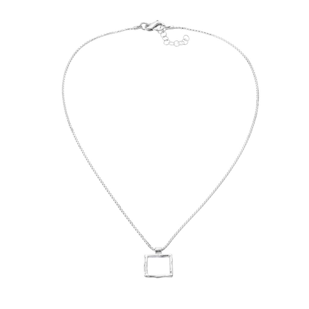 Q BE – COLLANA IN ARGENTO NATURALE - ATHENA
