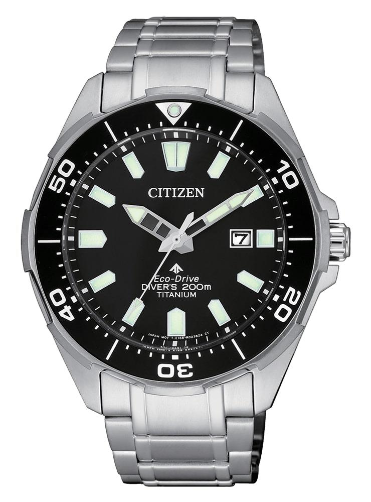 CITIZEN DIVER'S ECO DRIVE 200MT SUPER TITANIO QUADRANTE NERO - CITIZEN
