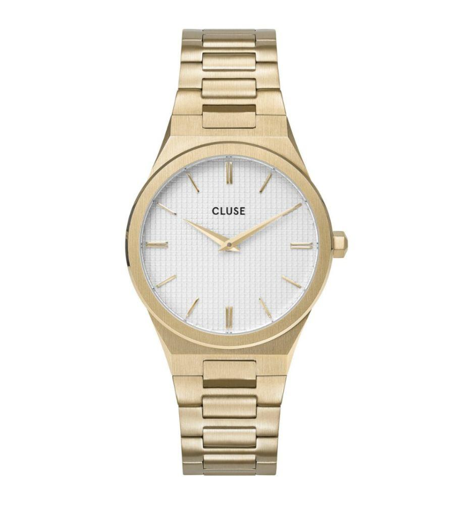 CLUSE VIGOUREUX 33 H - LINK GOLD SNOW WHITE/GOLD - CLUSE