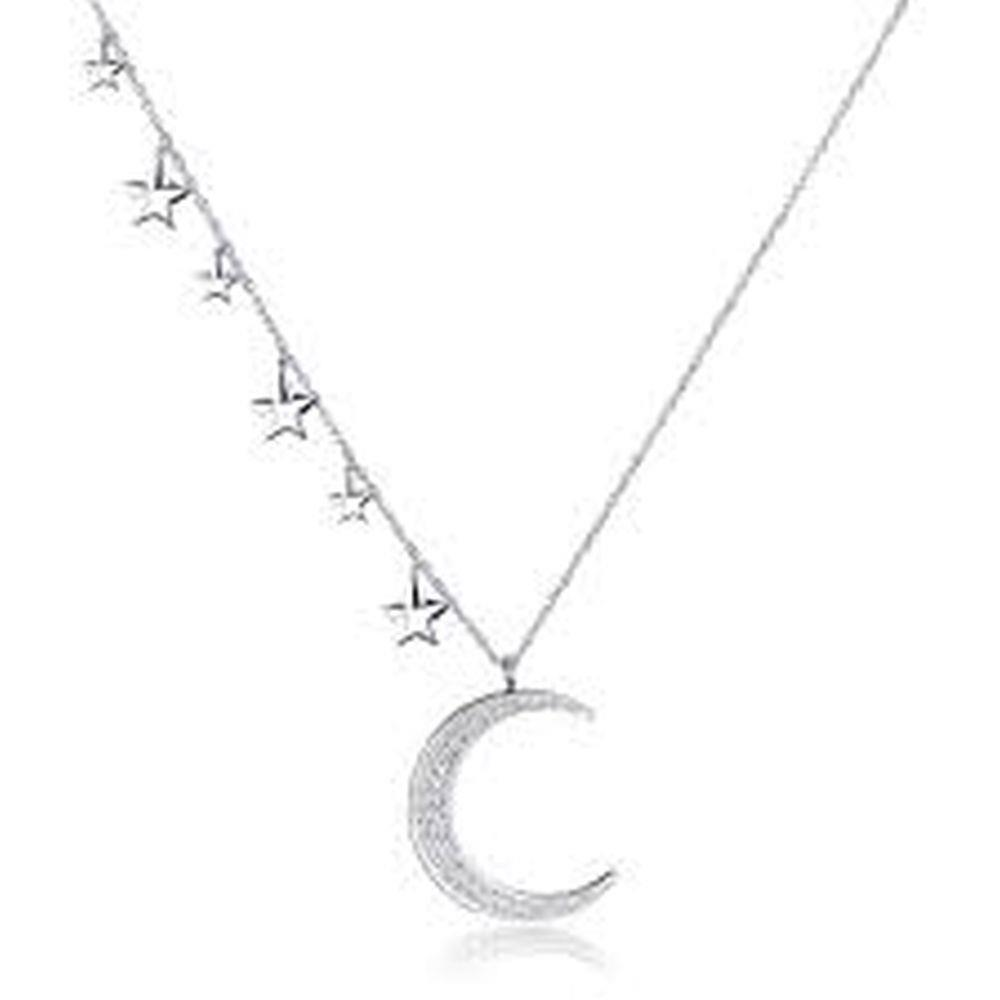 COLLANA NEW MOON LUNGA LUNA E STELLE - S