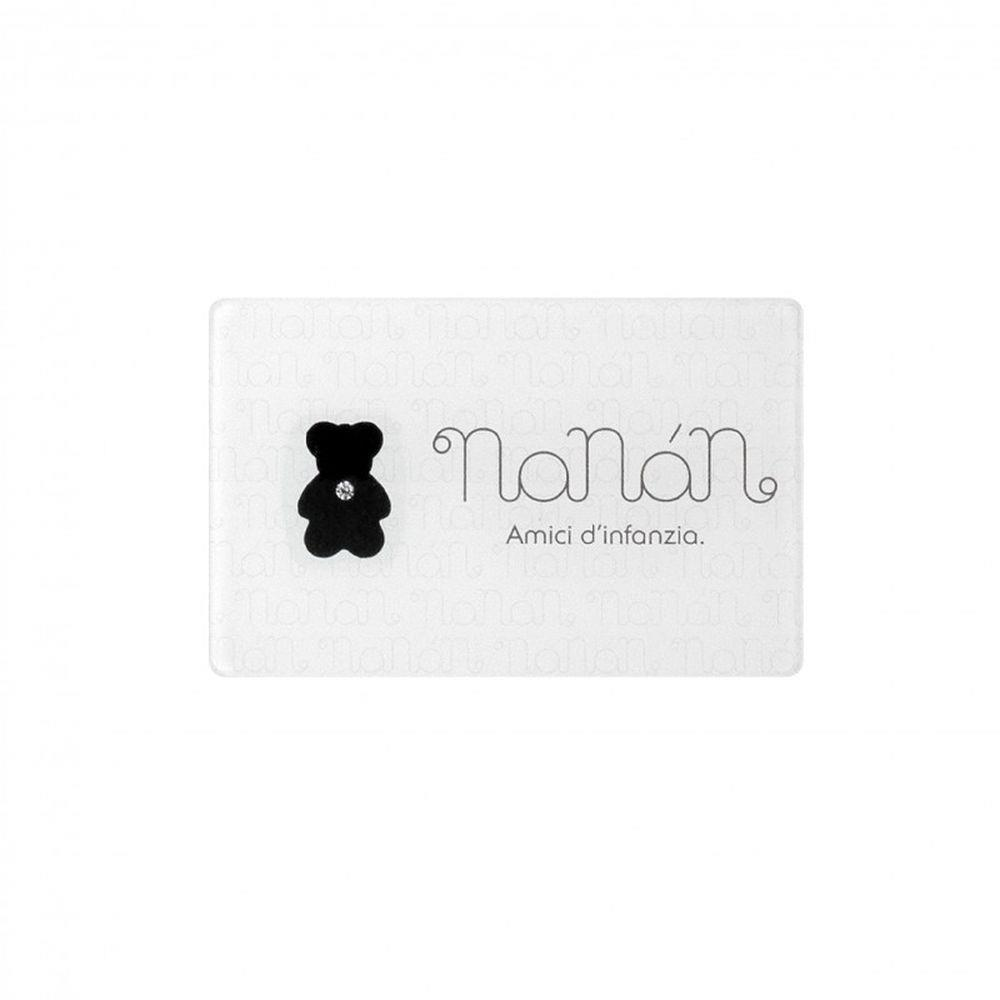 BLISTER NANAN CON DIAMANTE TAGLIO BRILLANTE CT 0,03 - NANAN