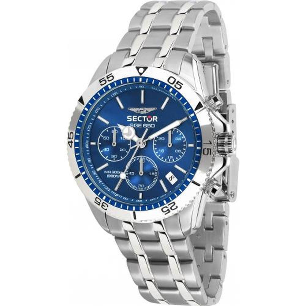 SECTOR SGE 650 BLUE DIAL BR SS - SECTOR