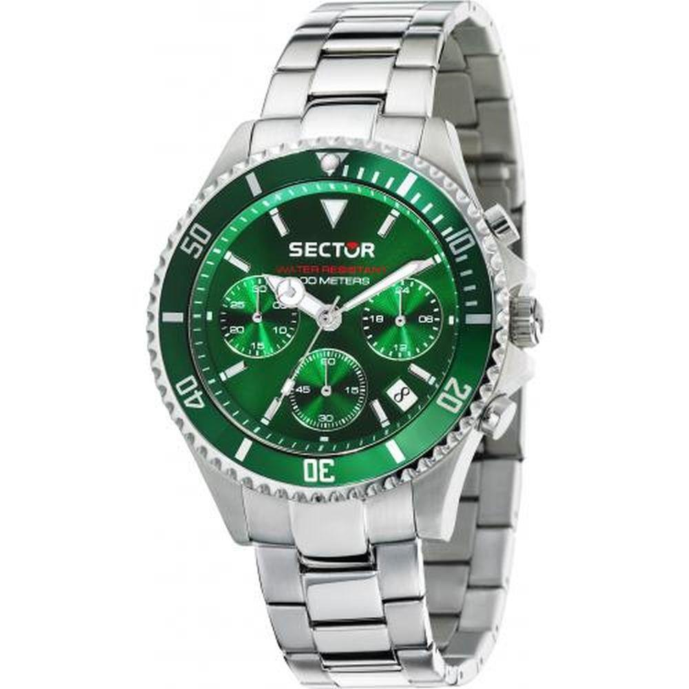SECTOR 230 CHR GREEN DIAL BR SS - SECTOR