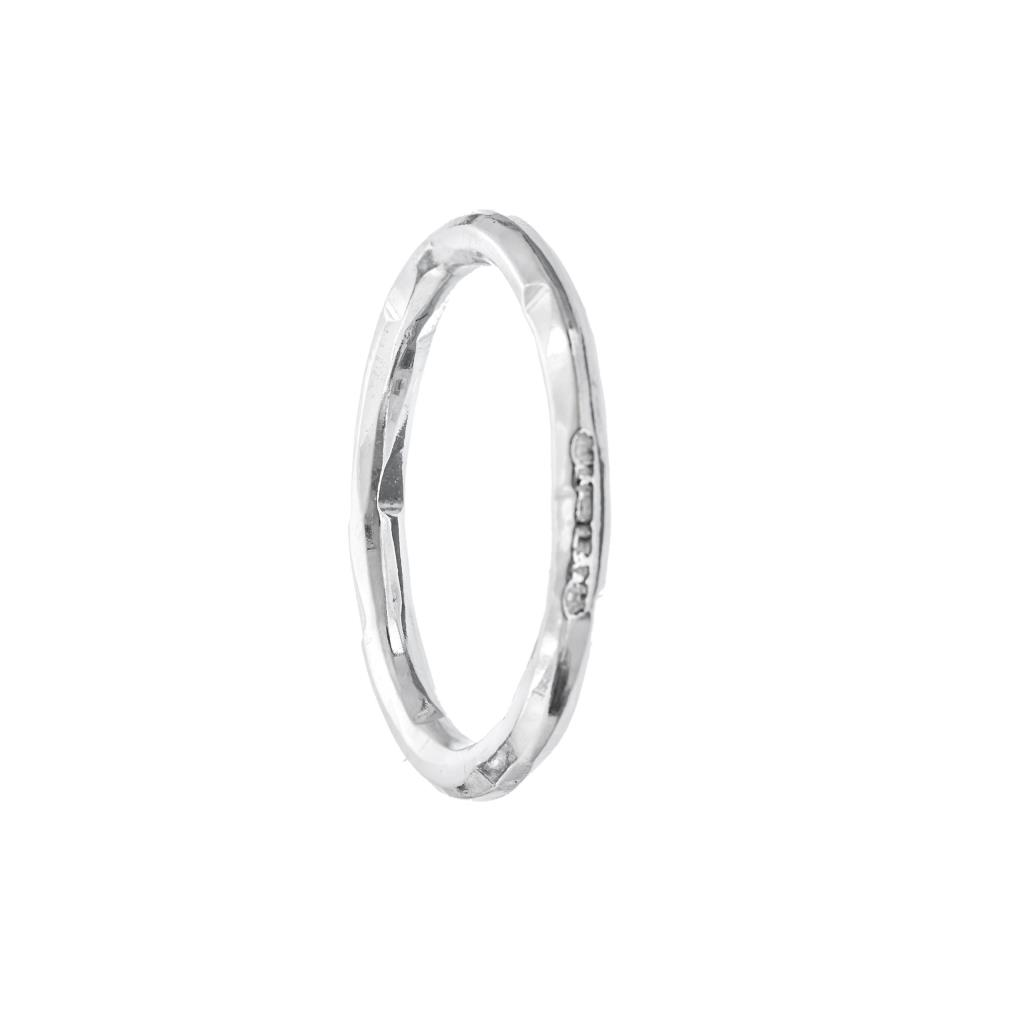 Q BE – ANELLO IN ARGENTO NATURALE - ATHENA